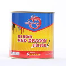 Hình ảnh SƠN ALKYD ENAMEL BÓNG RED DRAGON 800ML