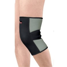 Hình ảnh Sport Neoprene Patella Knee Leg Sleeve Brace Compression Support Pain Relief L NEW - intl