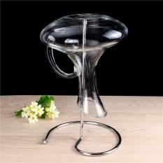 Hình ảnh Đồng hồ nam Dây Thép Không Gỉ Bình Đựng Rượu Chai Thủy Tinh Giá Đỡ Khô Đứng Phơi 30 cm-quốc tế