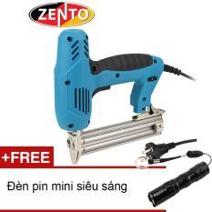 Hình ảnh Súng bắn đinh thẳng dùng điện Zento ZE-F30 (Tặng đèn pin mini Zento)