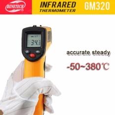 Nhiệt kế hồng ngoại đo nhiệt độ máy và cơ thể  GM-320(minh hồng shop)