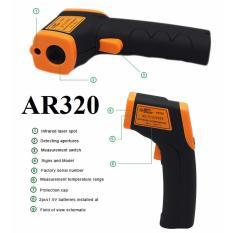 Súng Laser đo nhiệt độ từ xa AR320 (vàng đen)