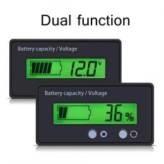 Sweatbuy MÀN HÌNH Hiển Thị LCD Backlit Đa Năng Dung Lượng Pin Đồng Hồ Đo Điện Áp Đo Vôn Kế Màn Hình-quốc tế