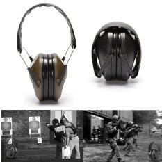 Hình ảnh Tactical Outdoor Hunting Anti-noise Earmuffs Shooting Hearing Earmuff Protector Green - intl