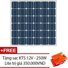 Bán Tấm Pin Năng Lượng Mặt Trời Mono 150W Tặng 1 Sạc Kts 12V 250W Lite Rẻ