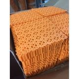 Thảm ghép chống trơn nhà tắm 30x30 màu cam (Orange)