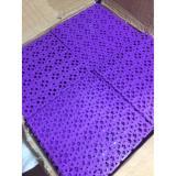 Thảm ghép chống trơn nhà tắm 30x30 màu tím (Purple)