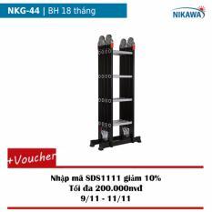 Thang nhôm gấp 4 khúc Nikawa NKG-44