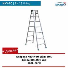 Thang nhôm gấp Nikawa NKY-7C (Trắng)
