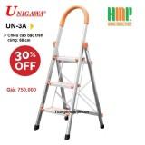 Thang nhôm ghế 3 bậc Unigawa UN-3A (68cm)