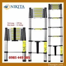 Thang nhôm rút đơn Nikita cao 3,8m (R38)