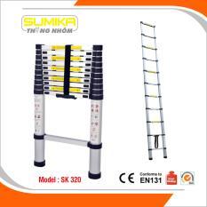Hình ảnh Thang rút nhôm Sumika SK 320 (3.2m)