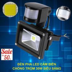 thiết bị chống trộm hồng ngoại, Đèn led cảm biến hồng ngoại thông minh 30w- LED KN10215, siêu tiết kiệm điện, tự động tắt bật khi có người ( TẶNG CẢM BIẾN HỒNG NGOẠI) - Bảo hành uy tín 1 đổi 1 bởi ken99 mẫu 315