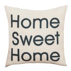Hình ảnh Ném Gối Home Sweet Home Ký Vuông Gối Sofa Đệm Áo Gối Chần Gòn-quốc tế