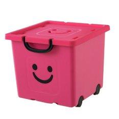 Thung Nhựa Cao Cấp Han Quốc Happy Box Yw 02 Hồng Mới Nhất