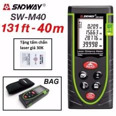 Thước đo khoảng cách bằng tia laser SNDWAY phạm vi 40m