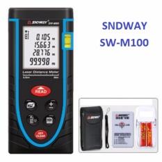 Thước đo khoảng cách bằng tia laser SNDWAY SW-M100 cự ly 100m GX-986B - Bảo hành 18 tháng