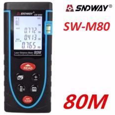 Mã Khuyến Mại Thước Đo Khoảng Cach Bằng Tia Laser Sndway Sw M80 Cự Ly 80M Gx 866A