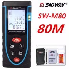 Bán Thước Đo Khoảng Cach Bằng Tia Laser Sndway Sw M80 Cự Ly 80M Gx 866B Sndway Nguyên
