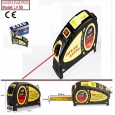 [FLASH SALE] Thước laser đa năng cân mực + thước kéo 5.5m - Thước Laser - Thước Xây Dựng - 206483 - Black