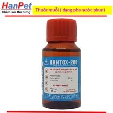 Hình ảnh Thuốc muỗi, ruồi, kiến, gián HANTOX 50ml, - dạng pha nước phun - hanpet 316