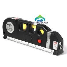 Hình ảnh Thước Nivo laser LV-03 cân mực laser đa năng cân bằng kèm thước kéo 2,5m