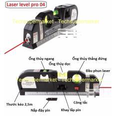Mua Thước Nivo Laser Lv 04 Can Mực Laser Đa Năng Can Bằng Kem Thước Keo 2 5M Laser