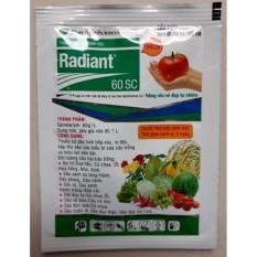 Hình ảnh Thuốc trừ sâu sinh học Radiant phòng trừ các loại sâu, bọ trĩ trên rau củ quả