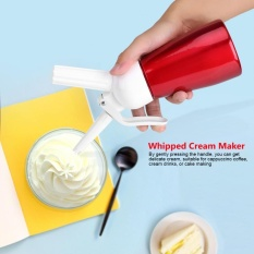 Tmishion 250ml Portable Red Aluminum Butter Dispenser Whipper Foam Maker - Intl By Rubikcube.