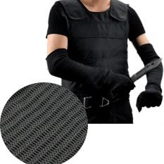 Găng tay an toàn lao động bằng sợi thép không gỉ - Màu đen