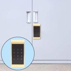 Bàn Phím cảm ứng Mật Khẩu Chìa Khóa Truy Cập Khóa Điện Tử Kỹ Thuật Số Tủ Bảo Mật Mã Hóa Khóa (Vàng) (Vàng)-quốc tế