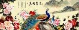 Mua Tranh Dan Tường 3D Phong Thủy Chim Cong Vtc Lunatm 0014 Mới
