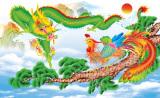 Bán Mua Tranh Dan Tường 3D Phong Thủy Long Phụng Sum Vầy Vtc Lunatm 0096 Mới Hồ Chí Minh