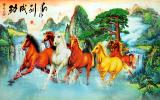 Mua Tranh Dan Tường 3D Phong Thủy Ma Đao Thanh Cong Vtc Lunatm 0046 Hồ Chí Minh