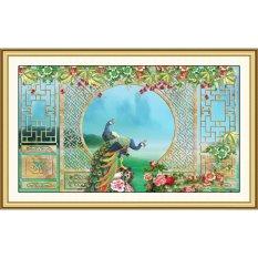 Giá Bán Tranh Dan Tường 3D Vtc Đoi Chim Cong Ben O Cửa Lunawall 0100K