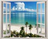 Bán Mua Tranh Dan Tường Cửa Sổ 3D Cảnh Đẹp Thien Nhien Vtc Vt0208