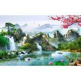 Tranh Dan Tường Phong Thủy 3D Vtc Tung Hạc Dien Nien Lunatm 0052 Kt 100 X 60 Cm Vtc Rẻ Trong Hồ Chí Minh