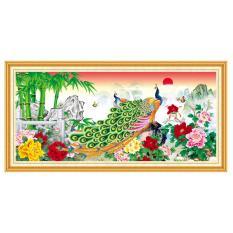 Mua Tranh Dan Tường Phong Thủy Vtc Đoi Chim Cong Ben Hoa Mẫu Đơn Lunatm 0171 Kt 100 X 50 Cm Trong Hồ Chí Minh