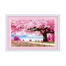 Tranh thêu chữ thập cây tình yêu YN6104-Siêu thị tranh thêu