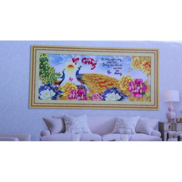 Tranh thêu chữ thập Vợ chồng YN2504-Siêu thị tranh thêu