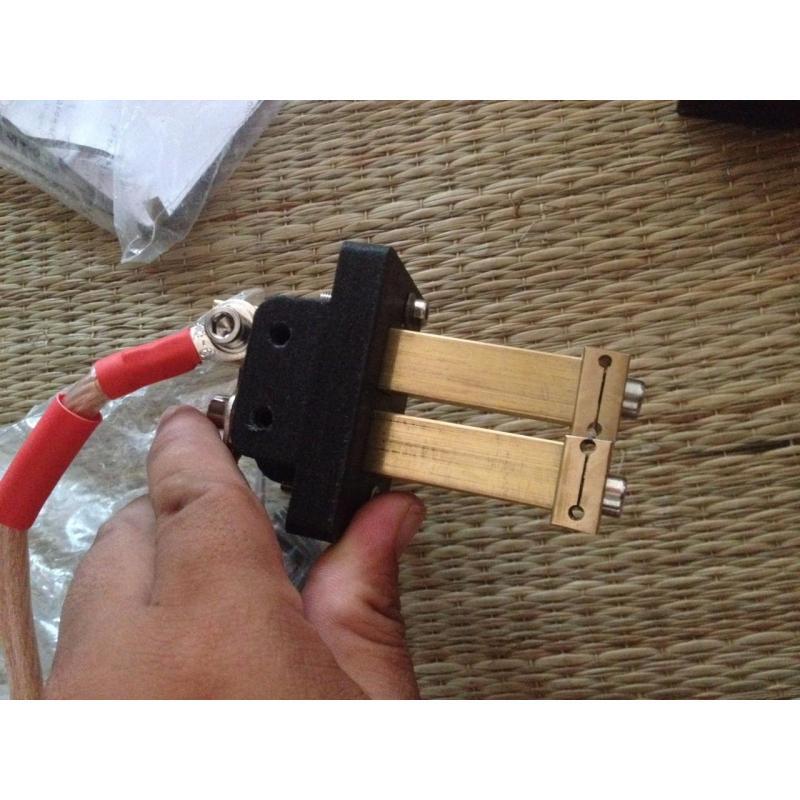 Trụ hàn cell chất lượng cao kèm kim hàn đài loan và dây đồng bện mềm
