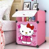Tủ đầu giường hồng kitty