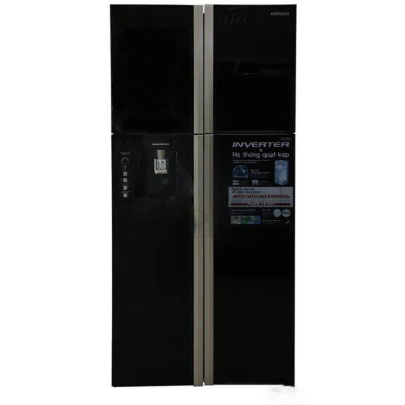 Tủ lạnh Hitachi R-W660PGV3 540 lít inverter màu đen