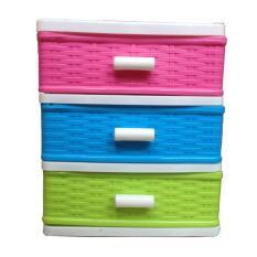 Tủ nhựa 3 ngăn nhiều màu