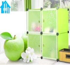 Ôn Tập Tủ Nhựa Lắp Ghep 4 Ngăn Bibi Home Tn Xc Tt Hv 4 Xanh Cốm