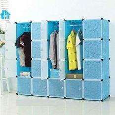 Cửa Hàng Tủ Nhựa Lắp Ghep Bibi Home 20 Ngăn Tn Xt Tt 20 Xanh Trời Oem Hà Nội
