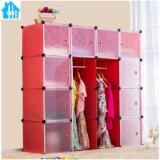 Giá Bán Tủ Nhựa Lắp Ghep Thong Minh Bibi Home 16 Ngăn Tn 16 Dtt Đỏ Van Nhãn Hiệu Oem