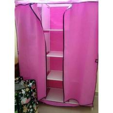 Tủ vải 3 buồng 8 ngăn khung inox cho sinh viên