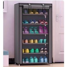 Tủ vải giày dép 7 tầng 6 ngăn cao cấp