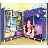 Bán Tủ Vải Quần Ao Hinh 3D Cao Cấp 3 Buồng 8 Ngăn Rẻ Trong Hà Nội